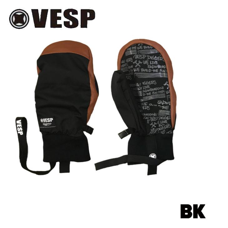 19-20 VESP ベスプ ミトングローブ 【BBG19-01 】DIGGERS MITTEN 予約販売品