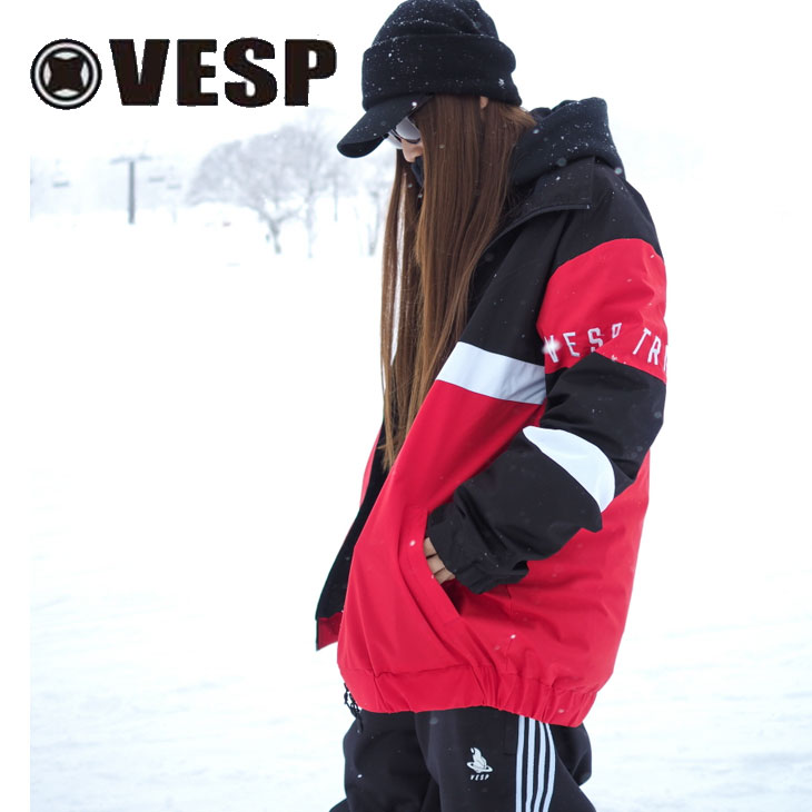 19-20 VESP ベスプ メンズ ウェアー 【VPMJ19-04 】STAND COLLARATHLE LIGHT JACKET  SNOW WEAR 予約販売品 ship1