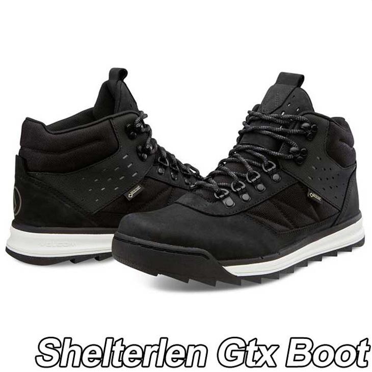 volcom ボルコム スニーカー メンズ 【Shelterlen Gtx Boot 】カラー【BLACK DESTRUCTO 】 シューズ 靴 【返品種別OUTLET】