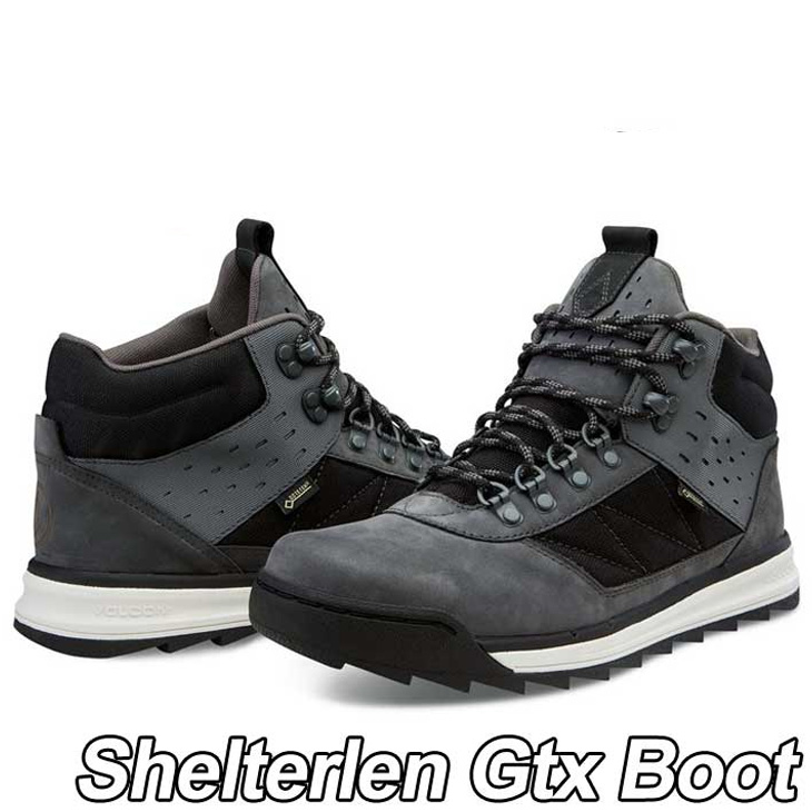 volcom ボルコム スニーカー メンズ 【Shelterlen Gtx Boot 】カラー【SMOKE 】 シューズ 靴 【返品種別OUTLET】