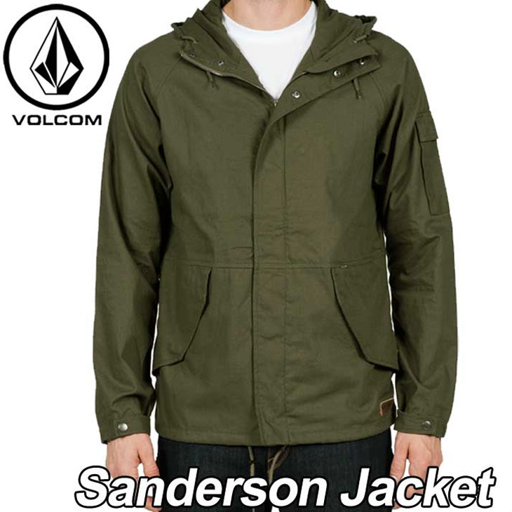 volcom ボルコム ジャケット メンズ 【Sanderson Jacket 】 アウター トップス VOLCOM 【メール便不可】【返品種別OUTLET】