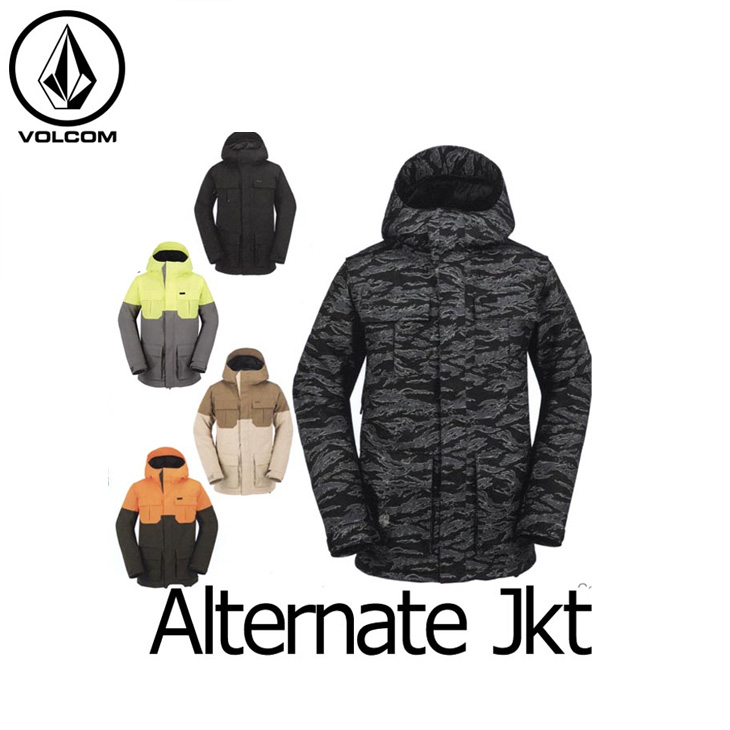 VOLCOM ボルコム スノー ボード ウェア 【16-17 モデル】 ジャケット スノーボード 【Alternate Jkt/Jacket 】 日本正規品 【返品種別OUTLET】 ship1