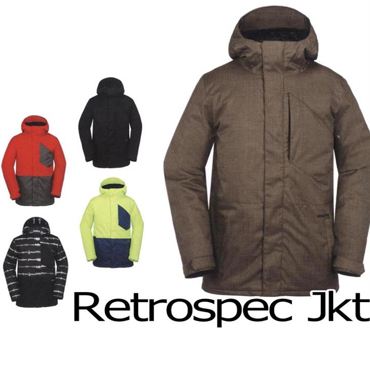 VOLCOM ボルコム スノーボードウェア Retrospec Jacket【在庫処分】ジャケット 【返品種別OUTLET】