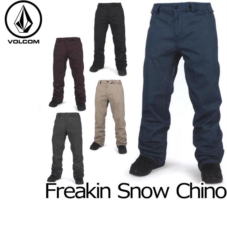 VOLCOM ボルコム スノー ボード ウェア 【16-17 モデル】 パンツ スノーボード 【Freakin Snow Chino 】 日本正規品 【返品種別OUTLET】 ship1