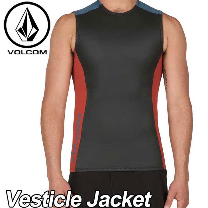 VOLCOM ボルコム メンズ ウェット タッパー 水着 【Vesticle Jacket 】ベスト 1.5mm VOLCOM 【メール便不可】【返品種別SALE】