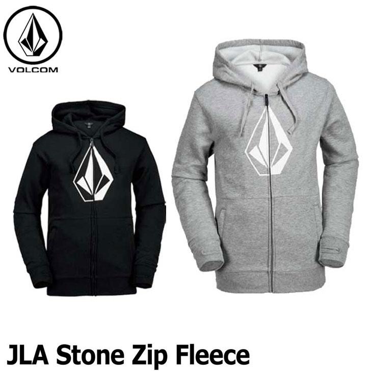 17-18 VOLCOM ボルコム パーカー HR&S ジップアップ スノーボード 【JLA Stone Zip Fleece 】撥水パーカー 正規品【返品種別OUTLET】
