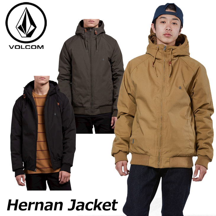 volcom ボルコム ジャケット Hernan Jacket メンズ A1731700 ship1