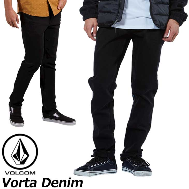 volcom ボルコム デニムパンツ Vorta Denim カラー BKO メンズ A1931501 ship1