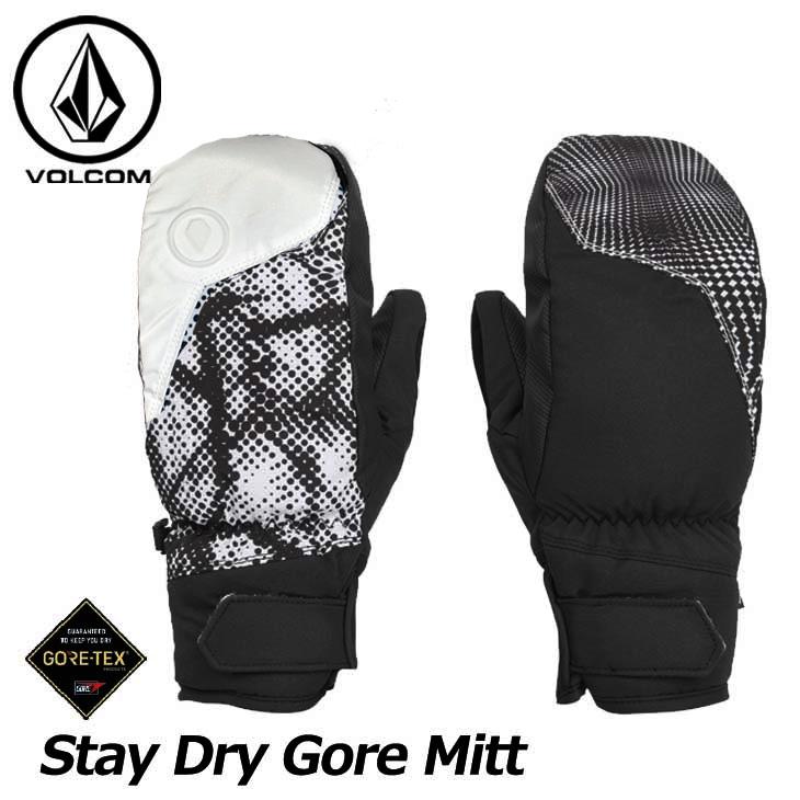 18-19 VOLCOM ボルコム メンズ グローブ スノーボード 【Stay Dry GORE Mitt 】J6851902 予約販売品