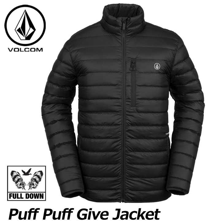 18-19 VOLCOM ボルコム スノーウェア メンズ スノーボード ジャケット 【Puff Puff Give Jacket 】G0451902 ship1【返品種別OUTLET】【返品種別OUTLET】