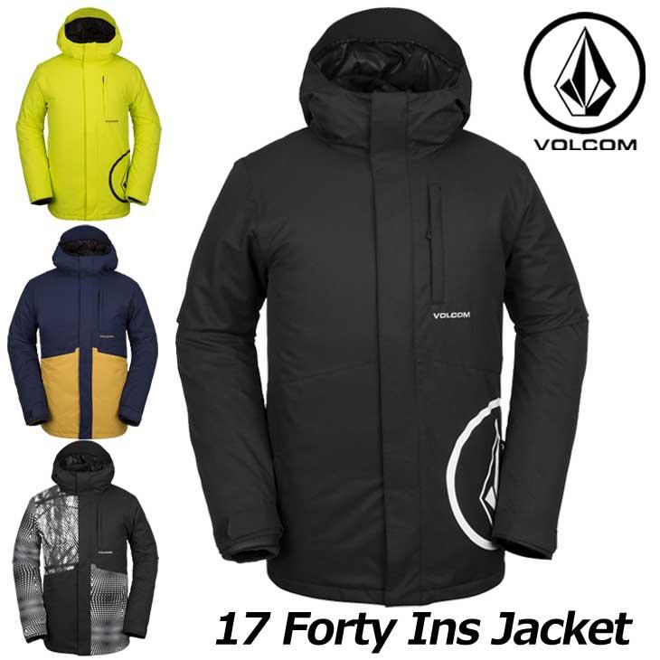 VOLCOM ボルコム スノーウェア ウエア スノボー 正規品 ヴォルコム 18-19 メンズ スノーボード Ins Forty ship1 G0451908 ジャケット お買い得 17 Jkt 返品種別OUTLET 最安値に挑戦