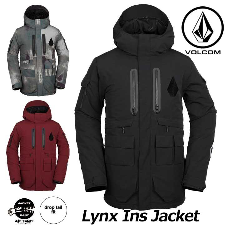 18-19 VOLCOM ボルコム スノーウェア メンズ スノーボード ジャケット 【Lynx Ins Jacket 】G0451909 ship1【返品種別OUTLET】【返品種別OUTLET】