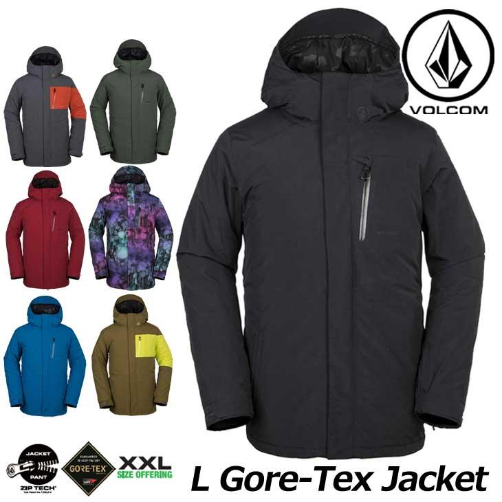 18-19 VOLCOM ボルコム メンズ ウェア スノーボード ジャケット 【L GORE-TEX Jkt 】G0651904 予約販売品