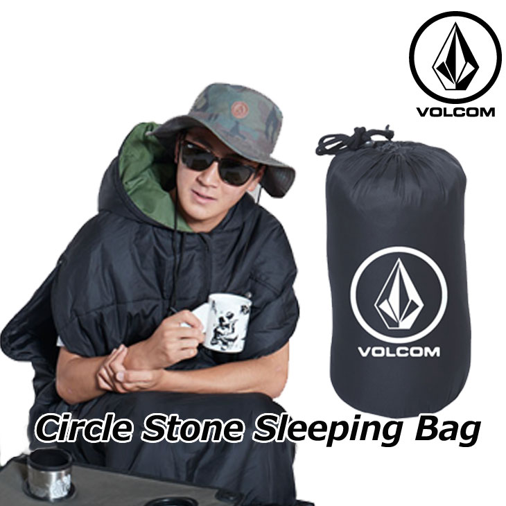 volcom ボルコム 寝袋 Circle Stone Sleeping Bag japan D67119JB 2019 春 夏 新作 ship1