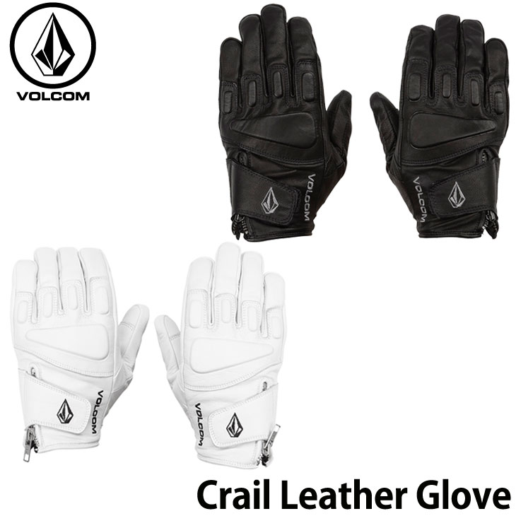 19-20 ボルコム VOLCOM メンズ グローブMens rail Leather Glove J6852008ship1