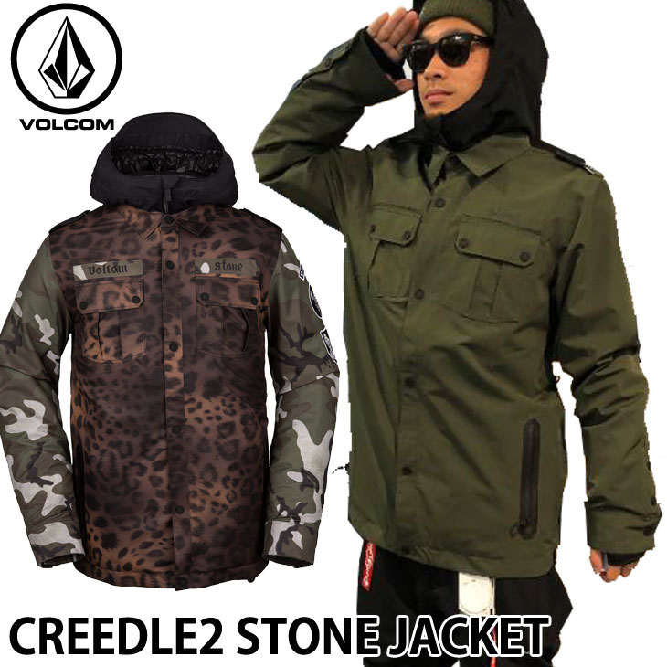 19-20 ボルコム VOLCOM CREEDLE2 STONE JACKET クリードルツーストーンジャケット G0652006 予約販売品 ship1