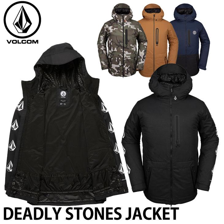 19-20 ボルコム VOLCOM DEADLY STONES JACKET デッドリィストーンズジャケット G0652010 予約販売品 ship1