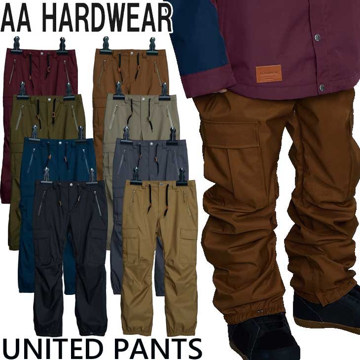 AA ダブルエー aa スノボー ウェアー 21-22 メンズ PANTS ship1 パンツ ウエアー UNITED 35%OFF 限定特価 ユナイテッド
