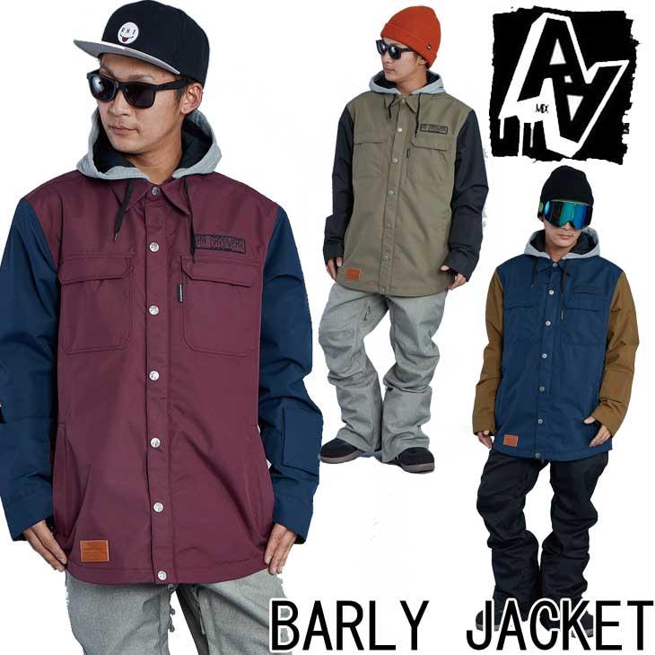 19-20 AA ダブルエー メンズ ウェアー 【BARLY JACKET 】バーリー ジャケット スノーボード SNOW WEAR 入荷済み ship1
