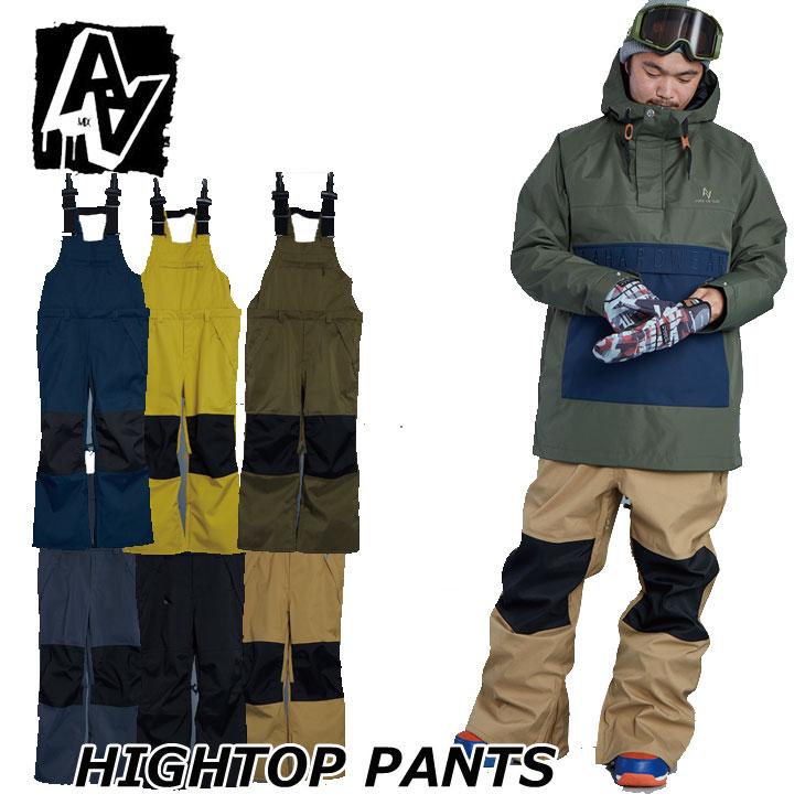 19-20 AA ダブルエー メンズ ウェアー 【HIGHTOP PANTS 】ハイトップパンツ スノーボード SNOW WEAR  ship1【返品種別OUTLET】
