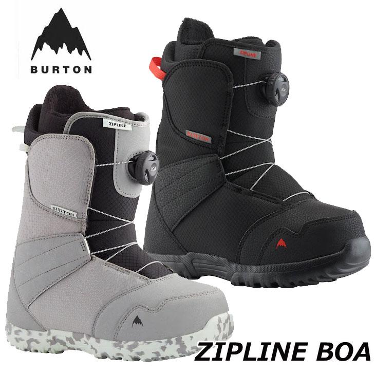 2020-2021 BURTON 爆買いセール 2020 新作 boots スノーボード 子供用 20-21 バートン ZIPLINE ship1 返品種別OUTLET キッズ ブーツ 日本正規品 BOA