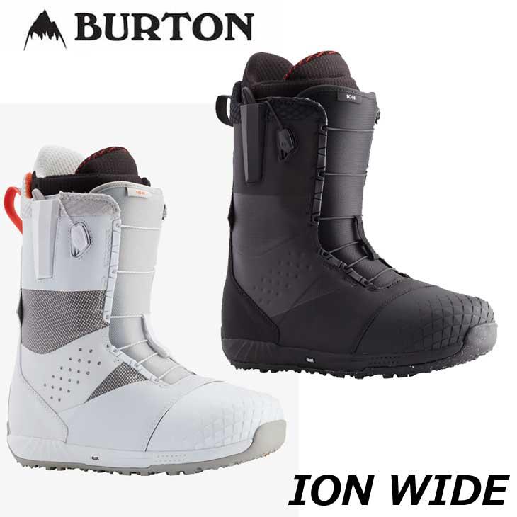 2020-2021 BURTON boots スノーボード スピードレースタイプ 20-21 バートン ION ship1 大幅にプライスダウン Wide 返品種別OUTLET ブーツ メイルオーダー メンズ 日本正規品