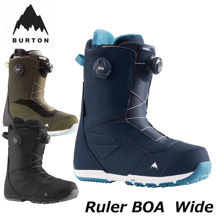 2021-22 BURTON ブーツ BOA ダイヤル式 21-22 Wide バートン 国内正規品 メンズ 日本正規品 RULER ship1 卓越