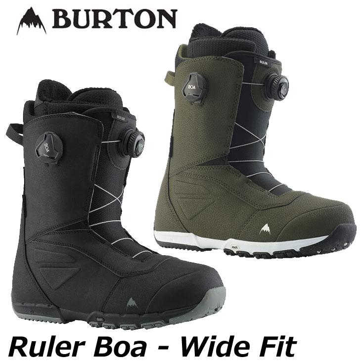 2019-20 BURTON boots スノーボード ダイアル ボアタイプ  19-20 BURTON バートン メンズ ブーツ 【Ruler Boa Wide fit 】 【日本正規品】 ship1