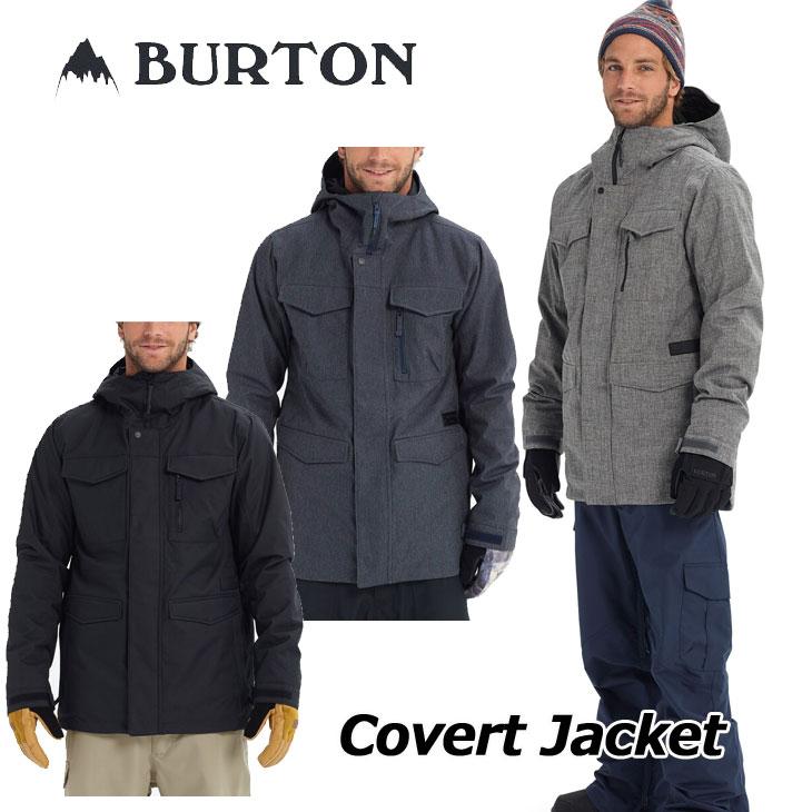 18-19 BURTON バートン メンズ ウエア 【Covert Jacket 】コバート ジャケット 日本正規品 ship1【返品種別OUTLET】