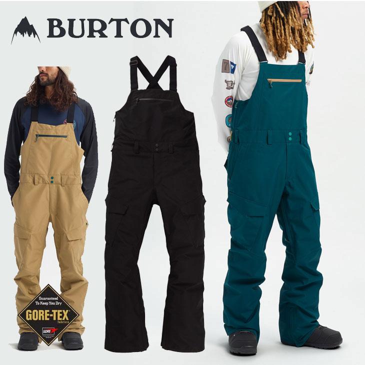 19-20 BURTON バートン メンズ ウエア スノーボード ゴアテックス Gore-Tex Reserve Bib Pant ship1【返品種別OUTLET】