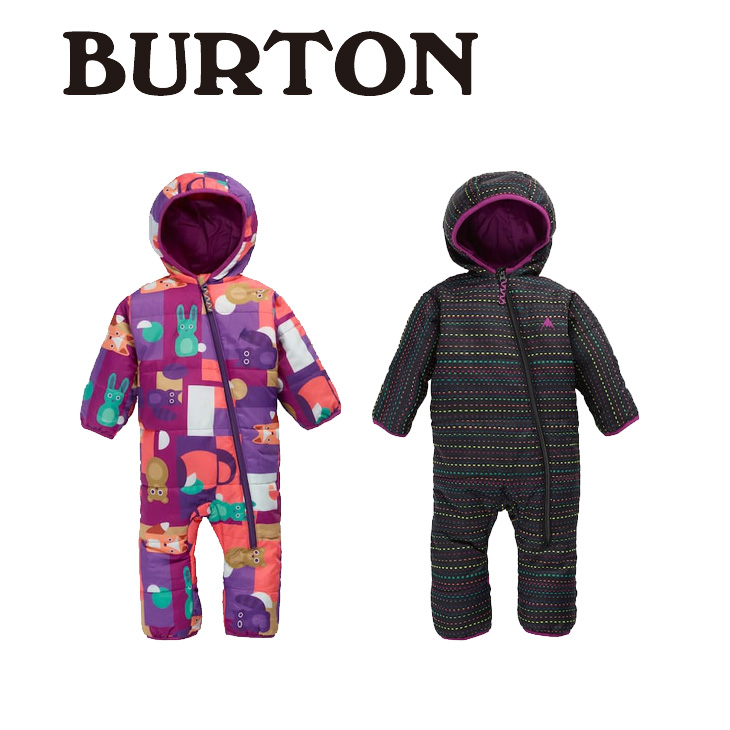 17-18 バートン 着ぐるみ Kids' Burton Minishred Infant Buddy Bunting Suit【返品種別OUTLET】