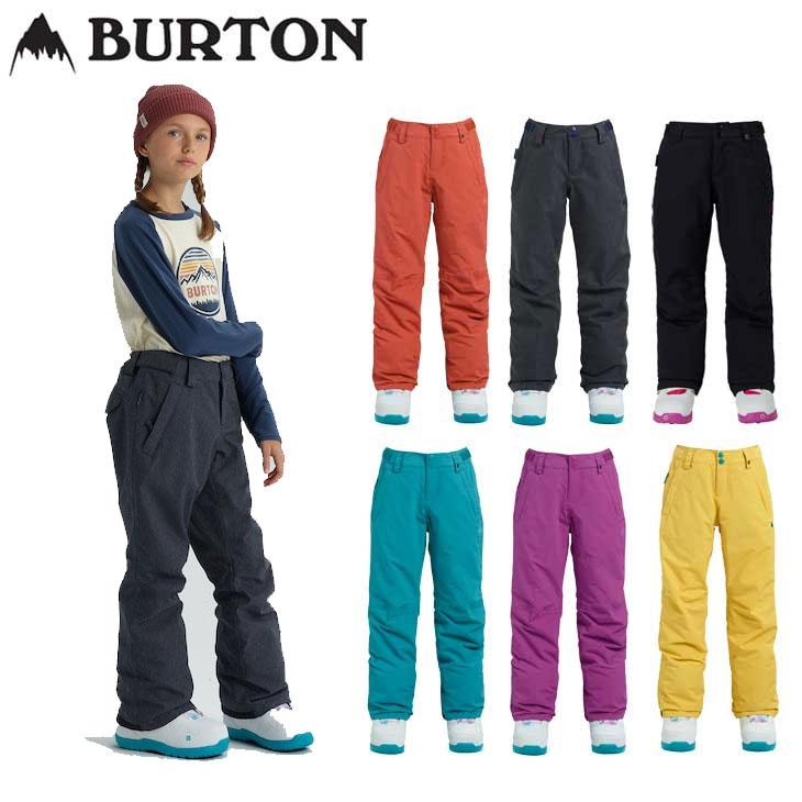 18-19 BURTON バートン キッズ ウエア KIDS 子供用 スノー ウエアー 【Girls' Burton Sweetart Pant】パンツ 【7-15才】小中学生向け 【返品種別OUTLET】