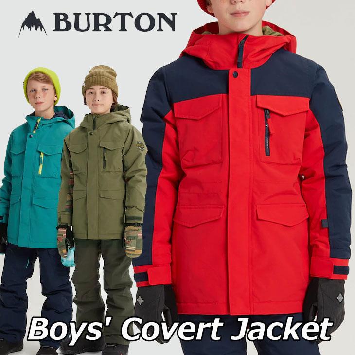 19-20 BURTON バートン キッズ スノーボード ジャケット Boys【Covert Jacket 】(110/126/140/150/164) 日本正規品【返品種別OUTLET】