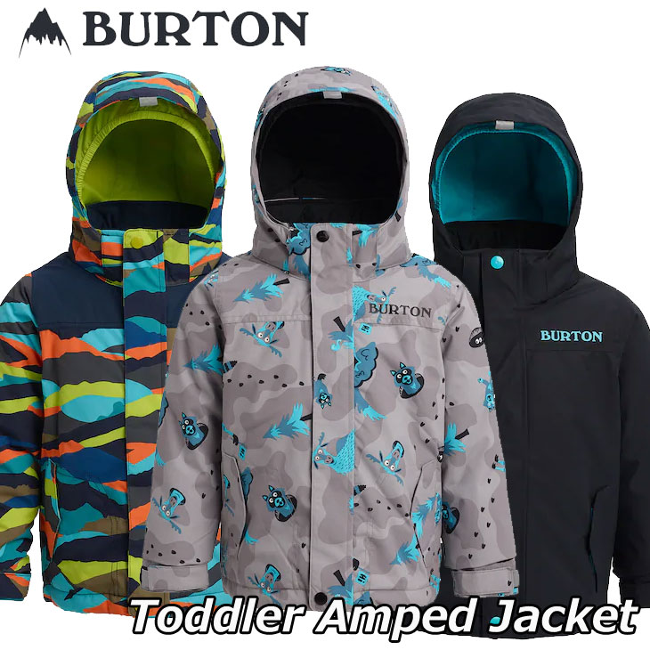 19-20 BURTON バートン キッズ スノーウエアー Toddler 【Burton Amped Jacket】(2-7才) 日本正規品 【返品種別OUTLET】