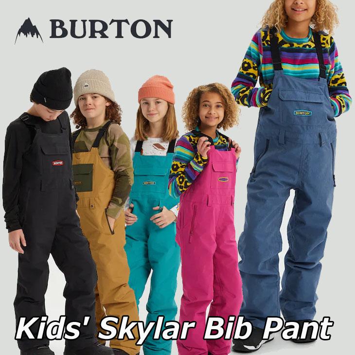 バートン キッズ ウエアー ビブパンツ  19-20 BURTON バートン キッズ スノーボード パンツ Kids【Skylar Bib Pant 】(110/126/140/150/164) 日本正規品