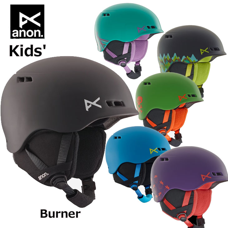 18-19 ANON アノン キッズ ヘルメット Kids' Anon Burner バーナー 【返品種別OUTLET】