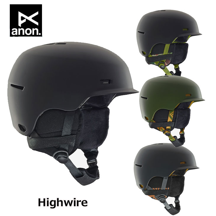 18-19 ANON アノン メンズ ヘルメット Anon Highwire Helmet ship1【返品種別OUTLET】