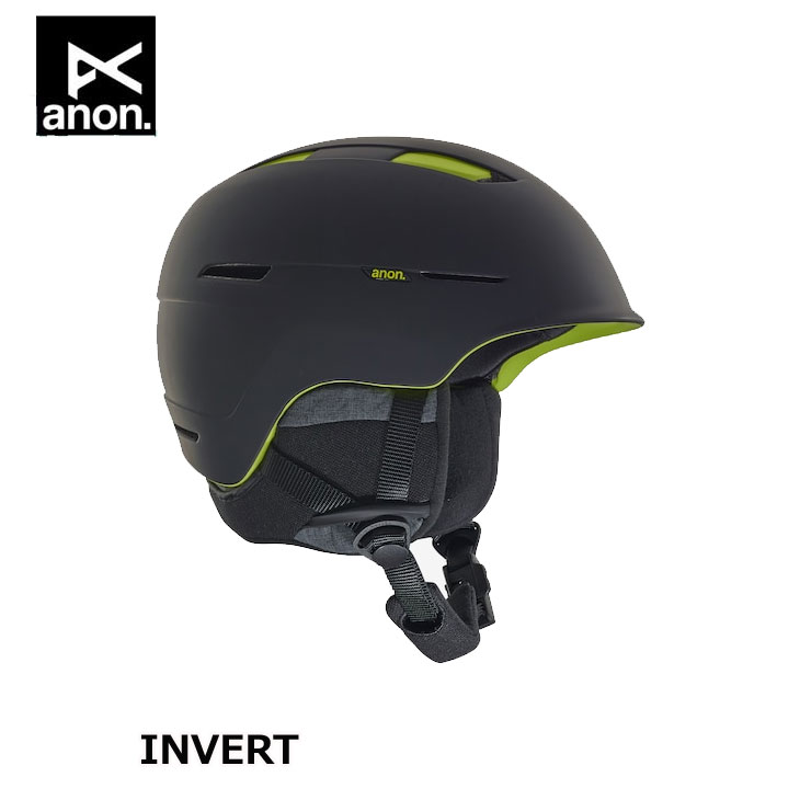 18-19 ANON アノン メンズ ヘルメット INVERT - ASIAN FIT Helmet ship1【返品種別OUTLET】