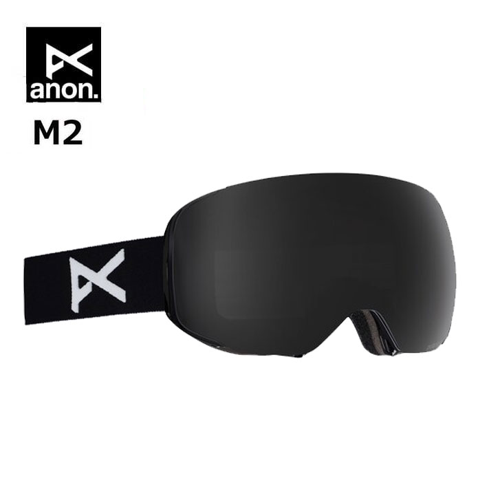 18-19 ANON アノン ゴーグル Men's Anon Polarized M2 Goggle - ASIAN FITスペアレンズ付き ship1【返品種別OUTLET】