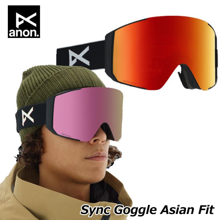 19-20 ANON アノン ゴーグル Sync シンク スペアレンズ付き Goggle Asian Fit ship1