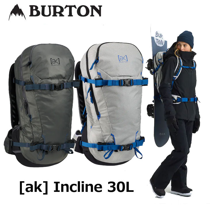19-20 BURTON バートン リュック メンズ FALL WINTER [ak] Incline 30L Backpack バックカントリー バッグ ship1【返品種別OUTLET】