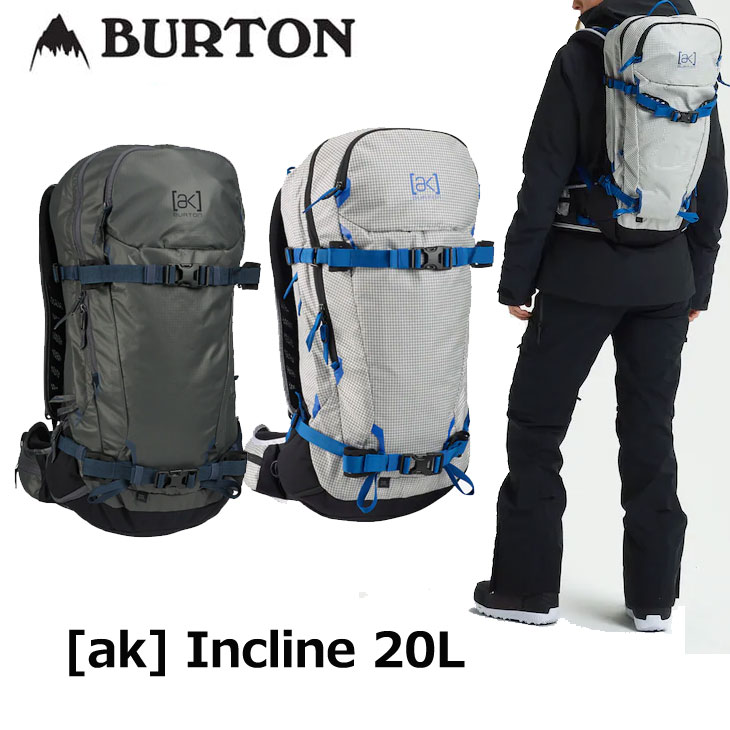 19-20 BURTON バートン リュック メンズ FALL WINTER [ak] Incline 20L Backpack バックカントリー バッグ ship1【返品種別OUTLET】