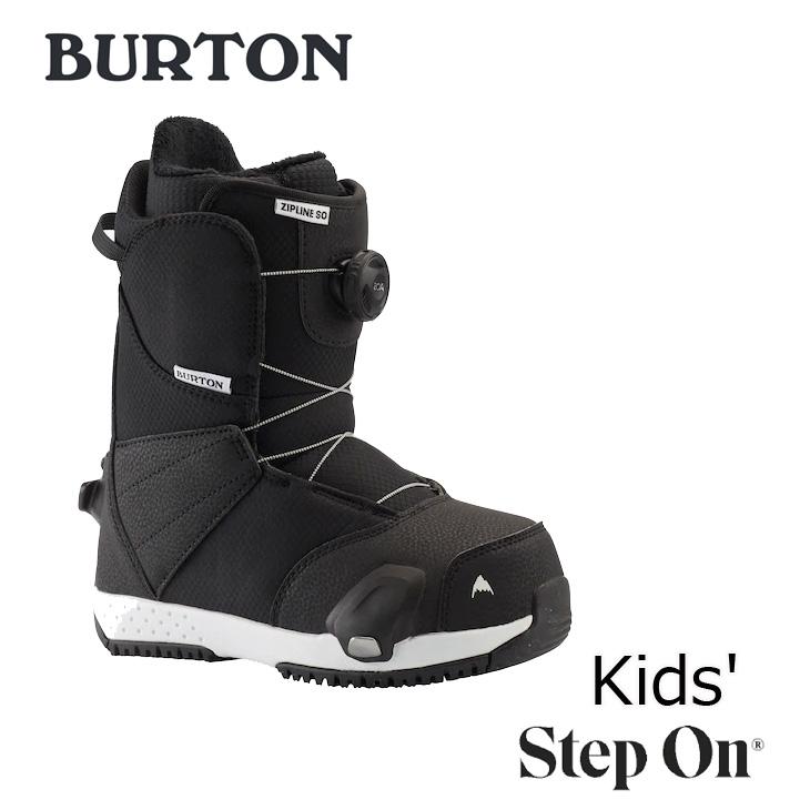 19-20 BURTON バートン ステップオン ブーツ キッズ Kids Zipline Step On Snowboard Boot 【日本正規品】【返品種別OUTLET】 ship1