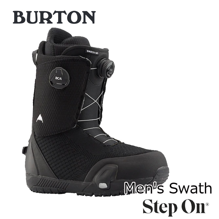 19-20 BURTON バートン ステップオン ブーツ Mens メンズ Swash Step On Snowboard Boot 【日本正規品】【返品種別OUTLET】 ship1
