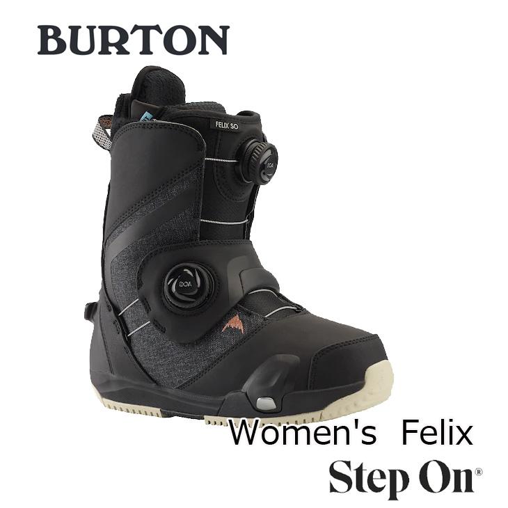 19-20 BURTON バートン ステップオン ブーツ レディース Womens Felix Step On Snowboard Boot 【日本正規品】【返品種別OUTLET】 ship1