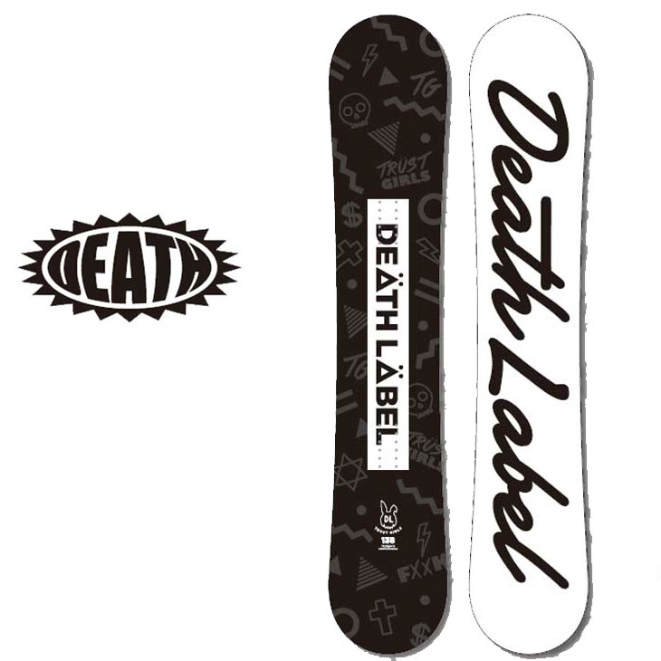 18-19 DEATH LABEL ( デスレーベル )レディース 【TRUST GIRLS 】 トラストガールズ スノーボード 板 snow board 予約販売品