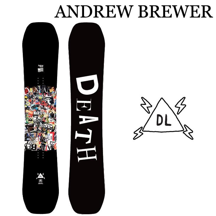19-20 DEATH LABEL デスレーベル ANDREW BREWER アンドリュー ブリュワー  ship1【返品種別OUTLET】