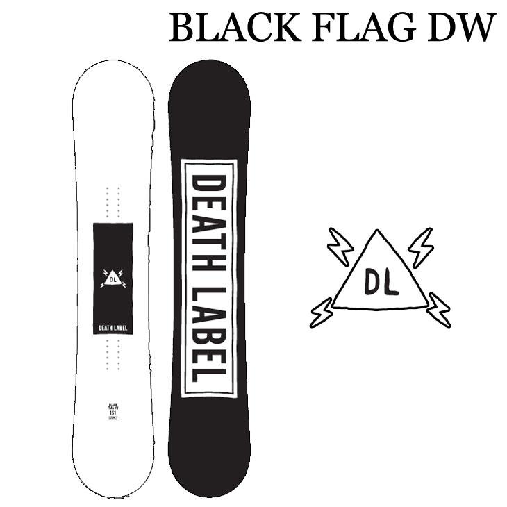19-20 DEATH LABEL デスレーベル BLACK FLAG DW ブラックフラッグデスウイング 予約販売品 ship1
