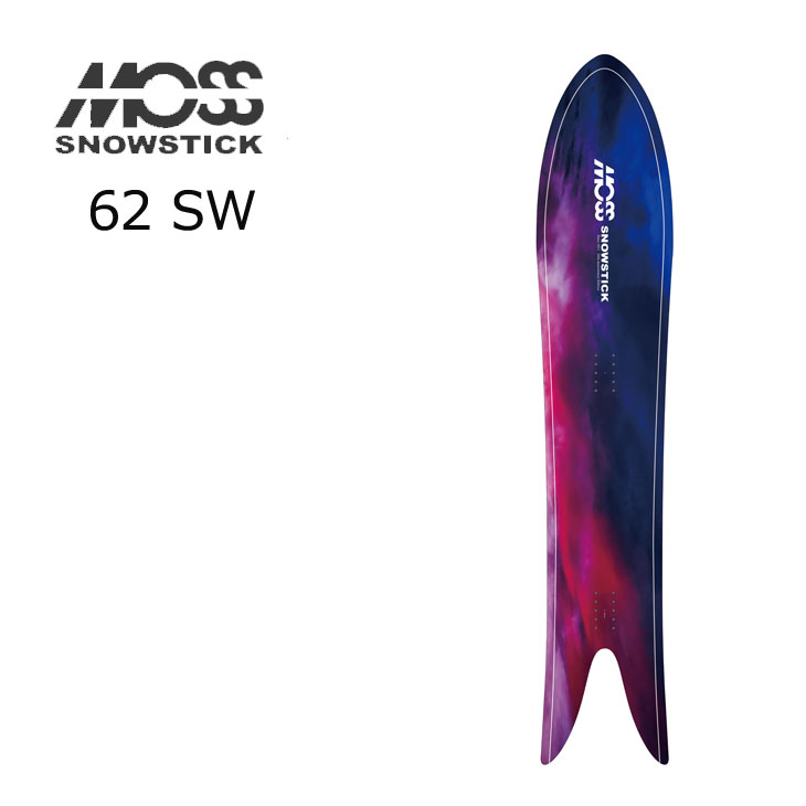 21-22 モス スノースティック  21-22 MOSS SNOWSTICK モス スノースティック パウダーボード【62SW 】 予約販売品 11月入荷予定 ship1