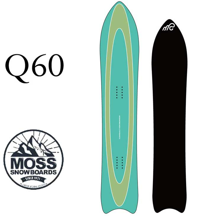 19-20 moss snowboards モス Q60 ship1【返品種別OUTLET】